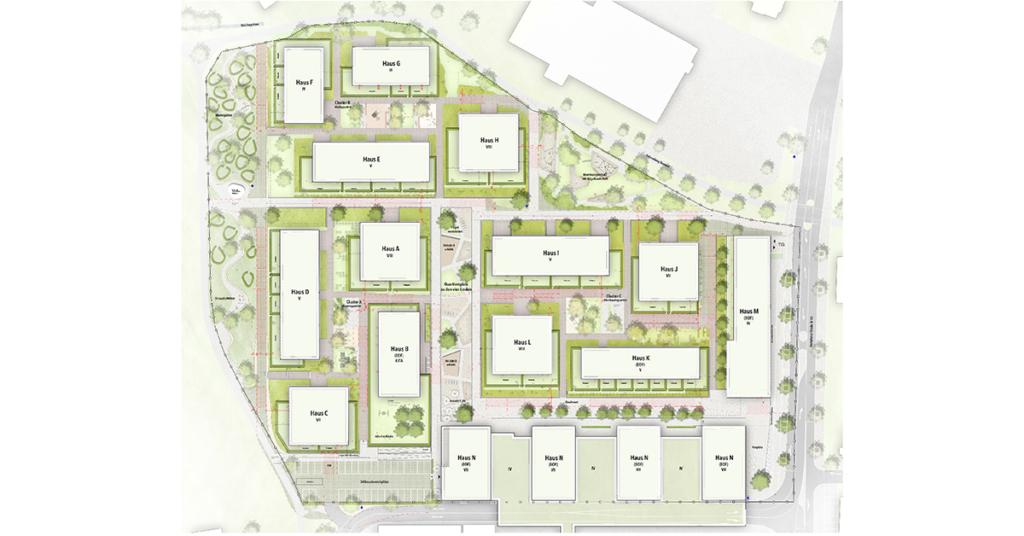 Aus dem ehemaligen Industrieareal wird in den nächsten Jahren das Vierlinden-Quartier.