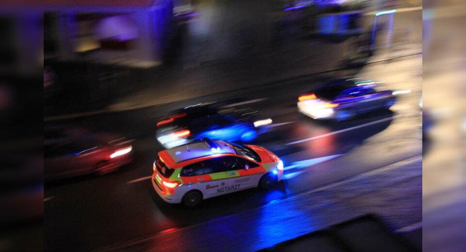 Verkehrsunfall mit hohem Sachschaden und einem Schwerverletzten