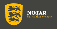 Notar Dr. Walther Metzger