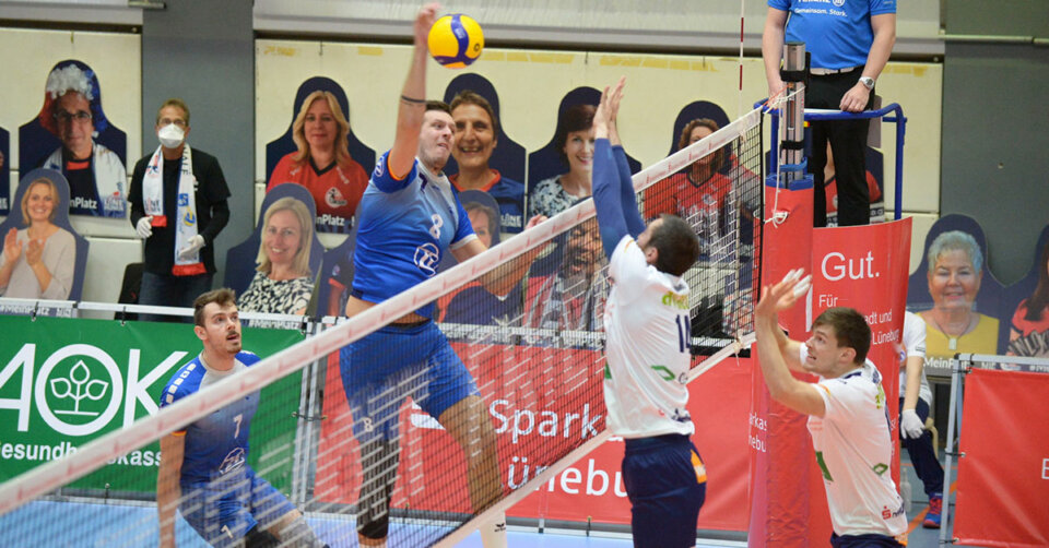 VfB-Volleyballer sind nicht mehr von Platz eins zu verdrängen