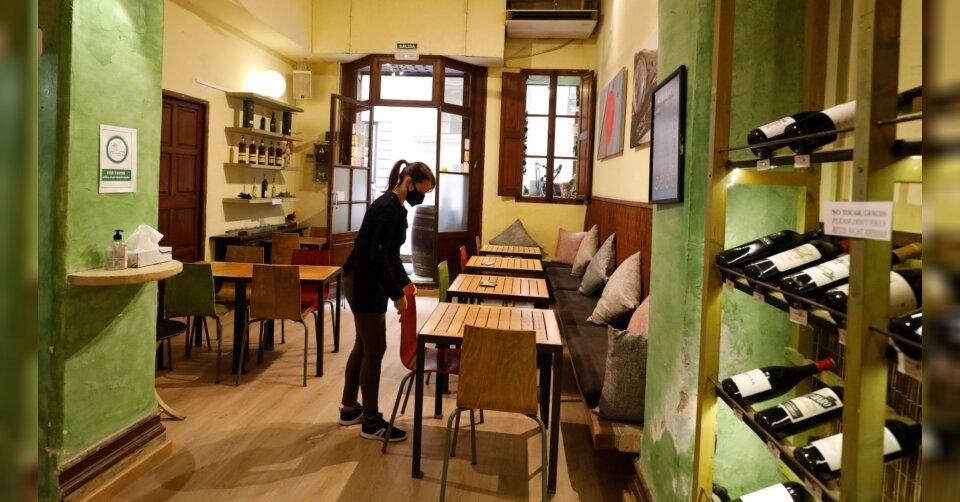 Mallorca: Restaurant-Gäste dürfen im Innenbereich speisen