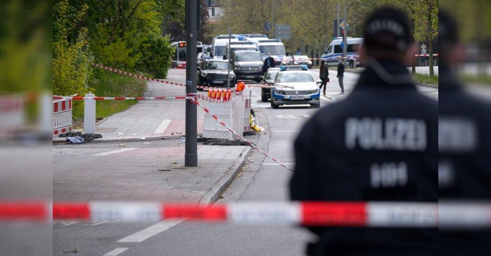 Mann bei Polizeieinsatz in Hamburg erschossen