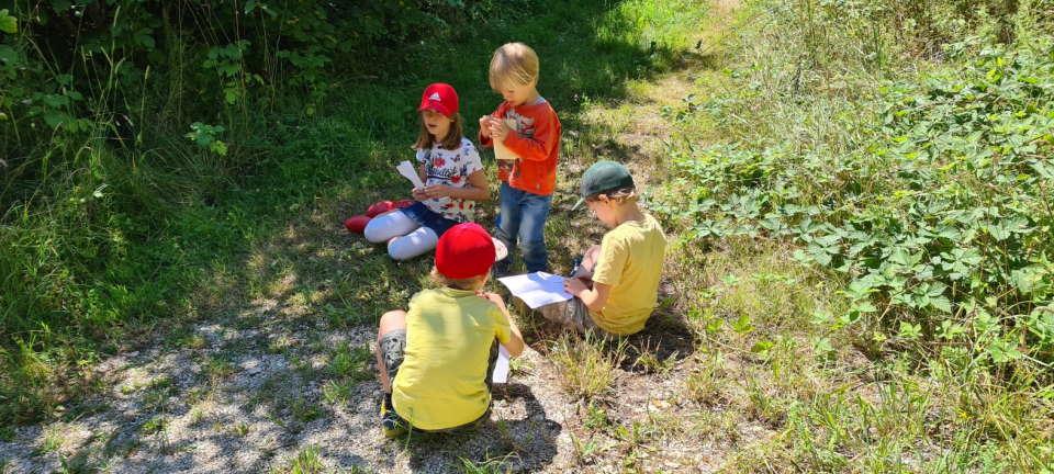 Inklusion – die Kinder im Ferienprogramm in Mariaberg haben es drauf