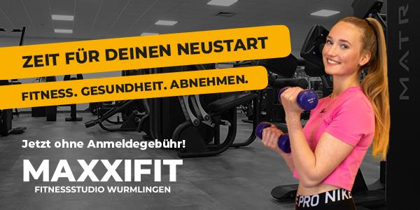 MAXXIFIT Fitnessstudio Wurmlingen