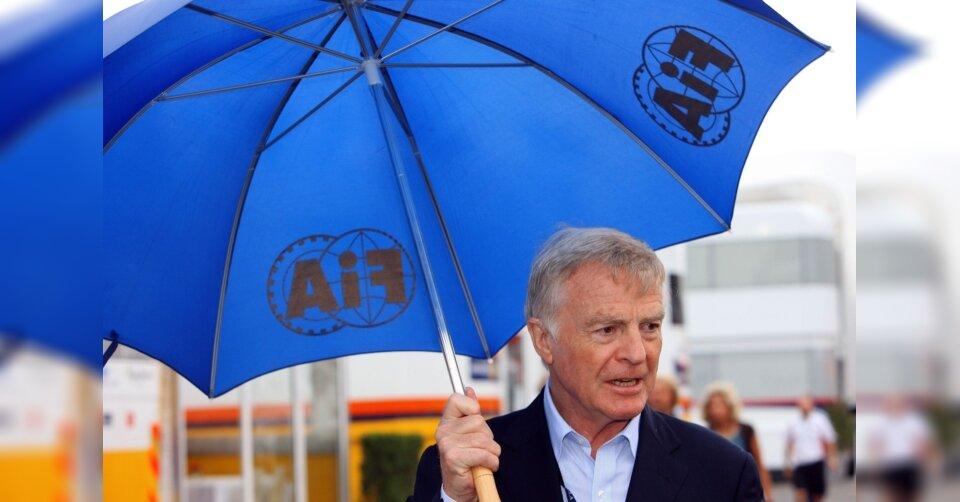 Medien: Früherer Automobil-Weltverbandschef Mosley ist tot
