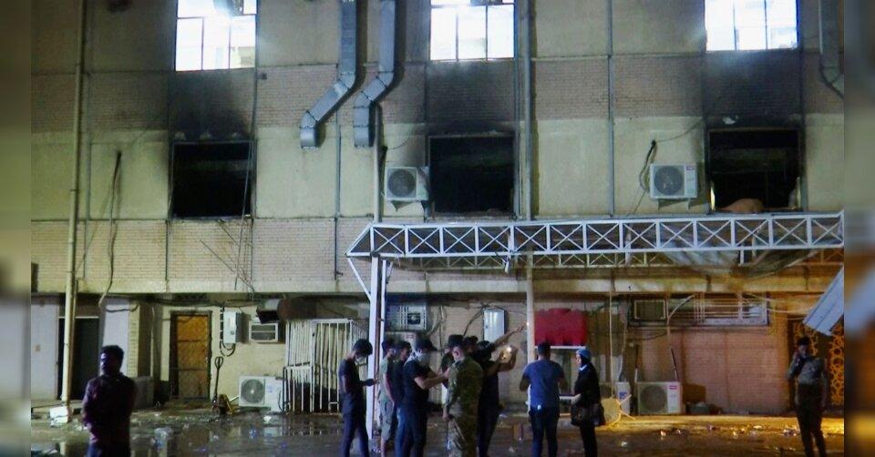 Mehr als 80 Tote bei Feuerinferno in Bagdader Krankenhaus