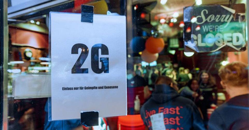 Umfrage: Mehrheit für 2G-Regeln für Gastro und Events