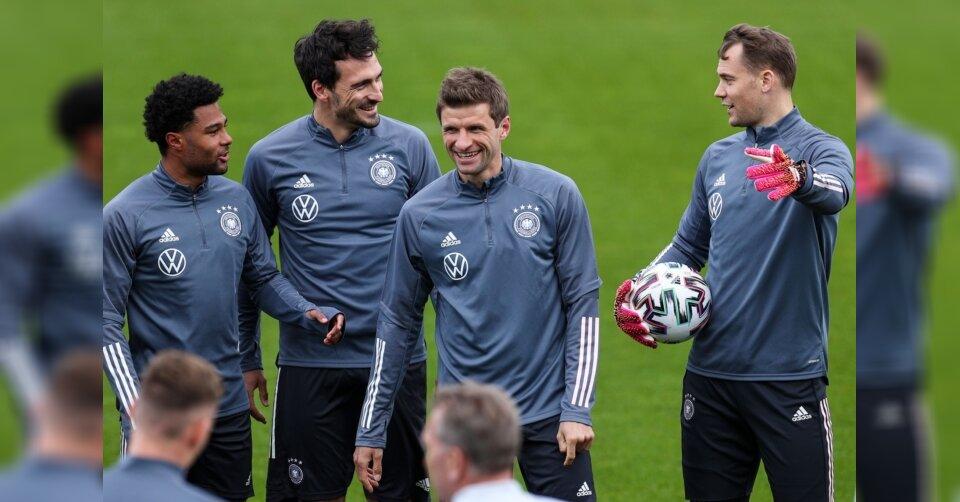 Mit Müller und Hummels in der Startelf gegen Dänemark