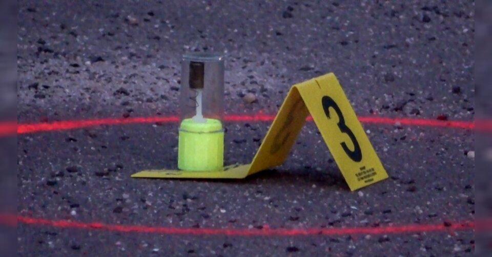 Motorradfahrer bei Verfolgungsjagd angeschossen