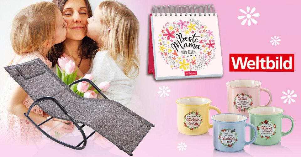 """""""Mama mach mal Pause!"""" Muttertags-Überraschung von Weltbild zu gewinnen"""