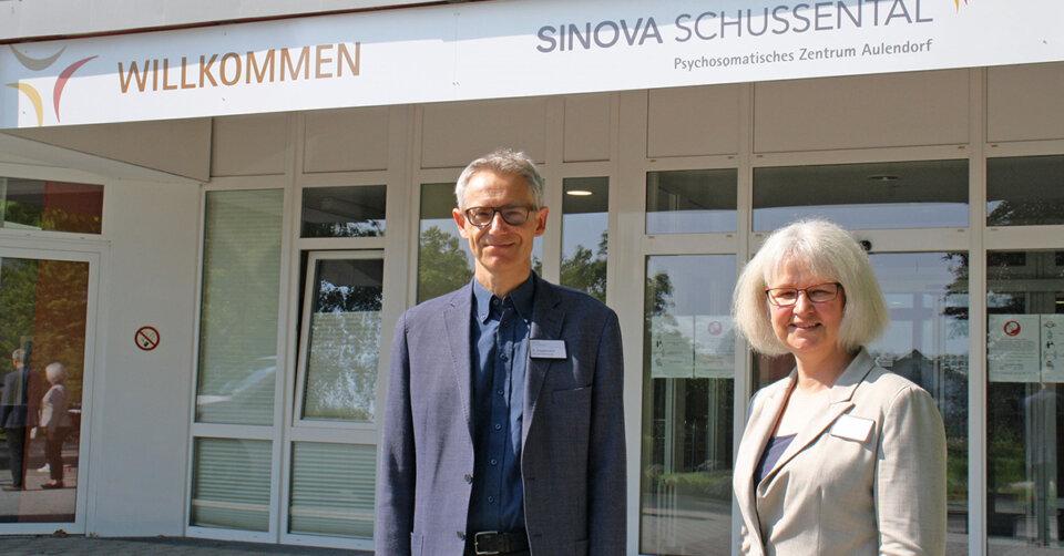 Neue Geschäftsführung der SINOVA Schussental