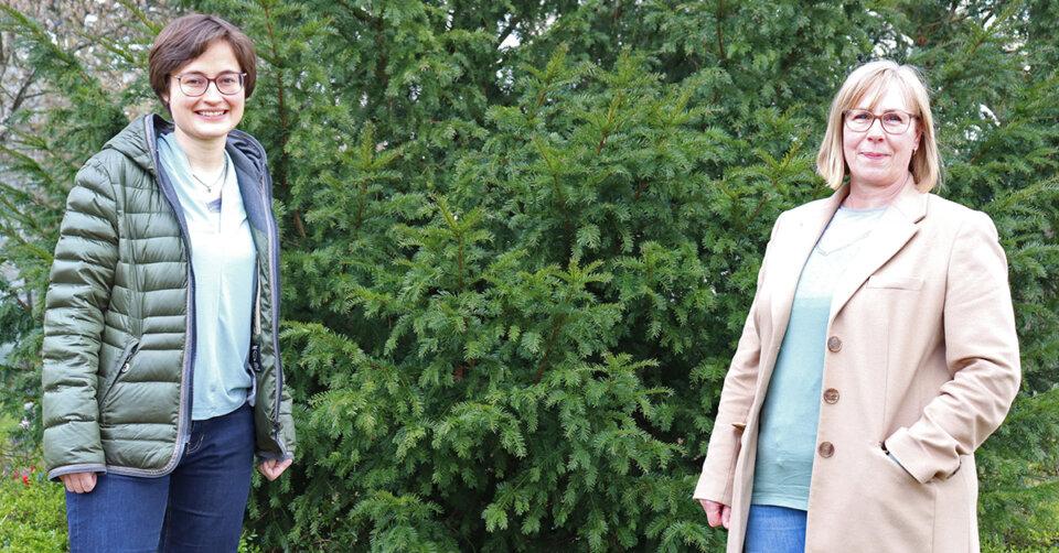 Neue Abteilungsleiterinnen in Biberach