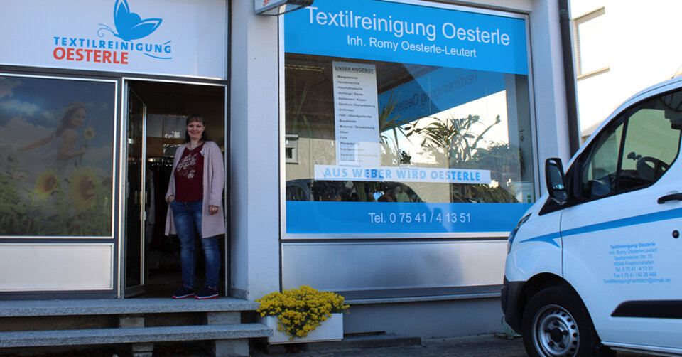 Neuer Name, gewohnter Service, Top-Qualität: Die Textilreinigung Weber heißt jetzt Textilreinigung Oesterle