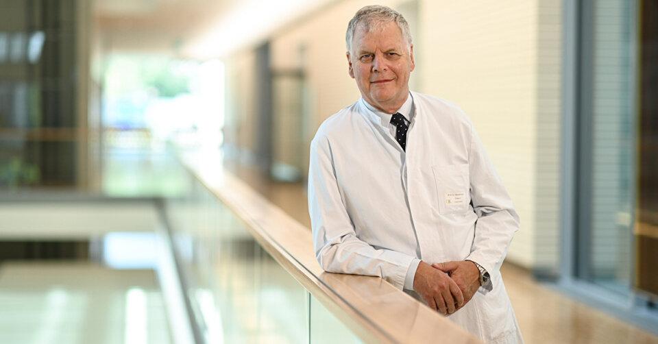Prof. Wiedemann bleibt bis Jahresende Chefarzt