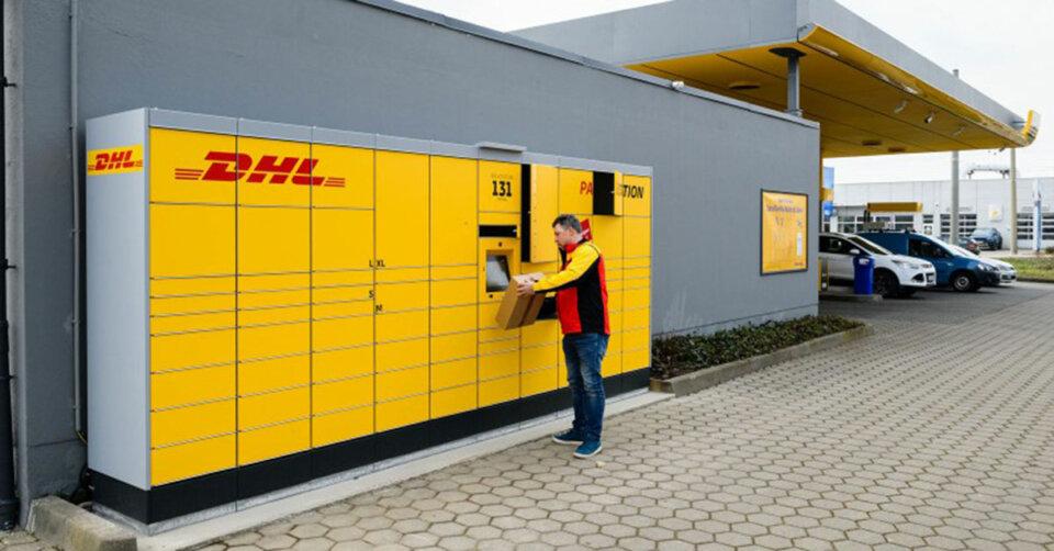 JET Tankstellen in Deutschland erhalten DHL Packstation: Kunden können rund um die Uhr Pakete abholen und versenden