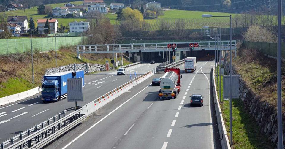 ASFINAG: Nachtsperren des Pfändertunnels (A 14 Rheintal/Walgauautobahn) im Mai