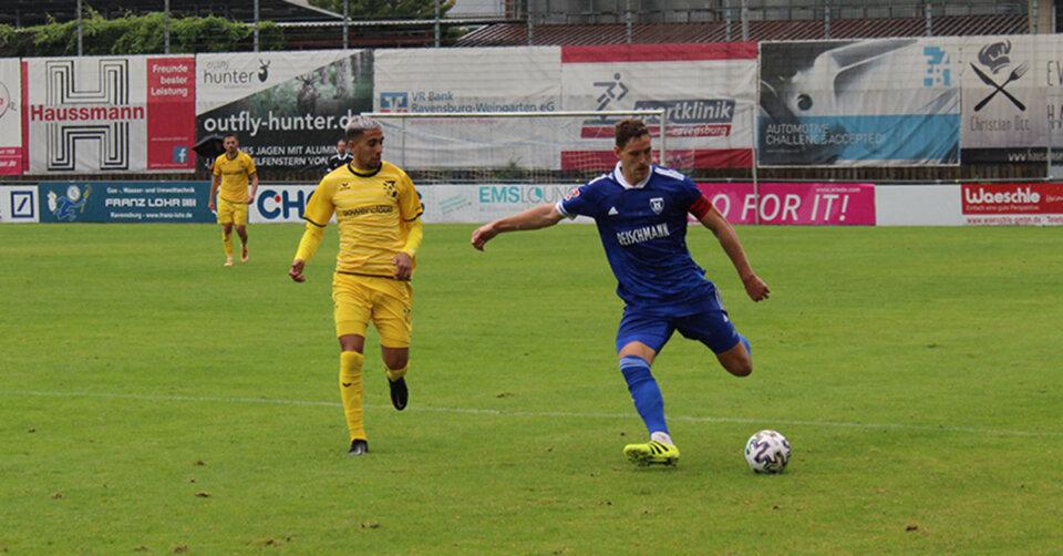 Anpfiff am Mittwochabend: FV Ravensburg will gegen Reutlingen zurück in die Erfolgsspur