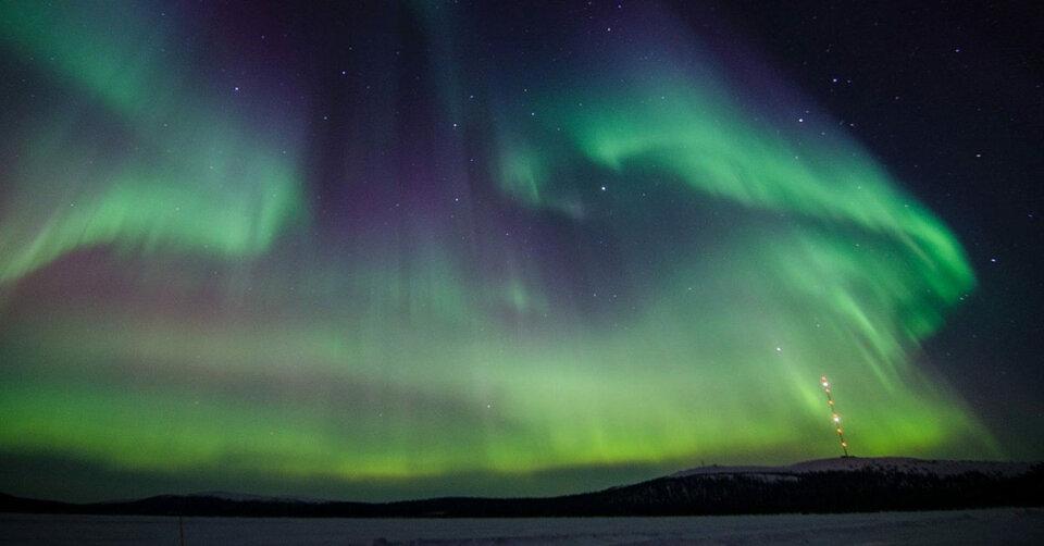 Eine virtuelle Reise zu den Polarlichtern