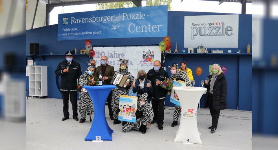 Erfolgreiches Schulweg-Training im Ravensburger Spieleland