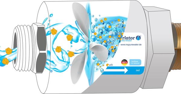 Die patentierte Wirbelkammertechnologie befreit das Wasser von unerwünschten Kalkablagerungen und sorgt für beste Trinkwasserqualität