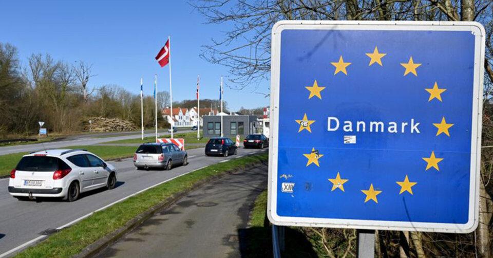 Radfahrer auf Autobahn an dänischer Grenze gestoppt