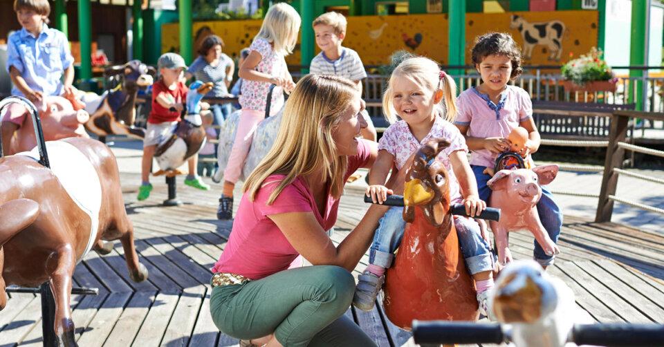 Im Ravensburger Spieleland warten Abenteuer, Spiel und Spaß für jedes Alter