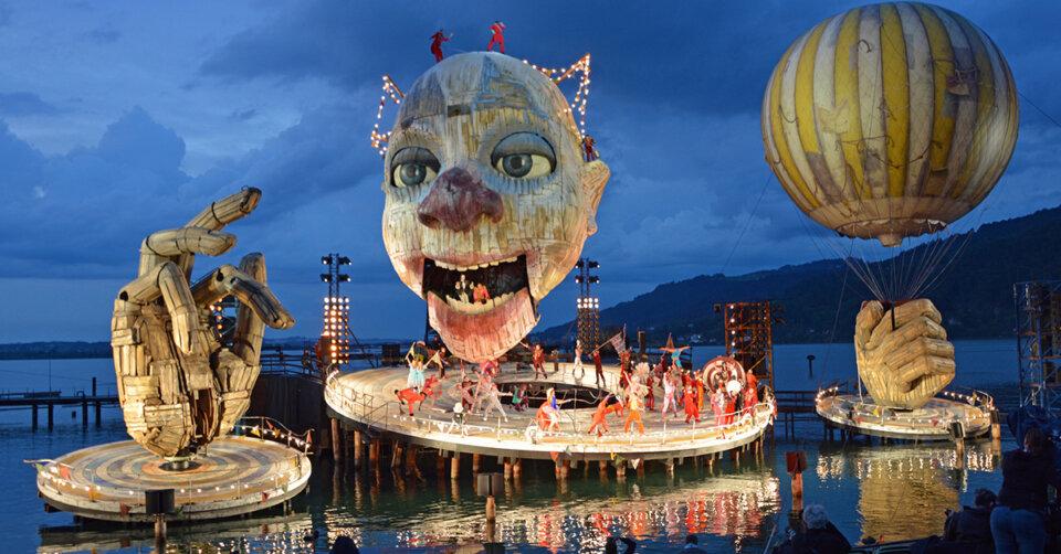 Freude und Erleichterung: Bregenzer Festspiele finden vor vollen Rängen statt