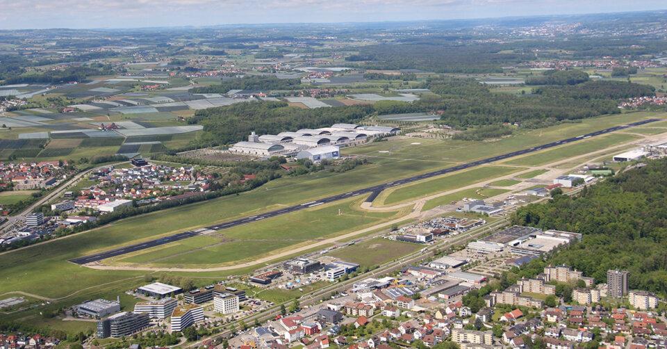 Sanierung des Bodensee-Airports schreitet weiter voran