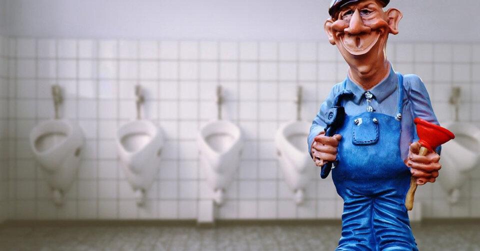 Toilettenanlagen im Parkhaus am See außer Betrieb