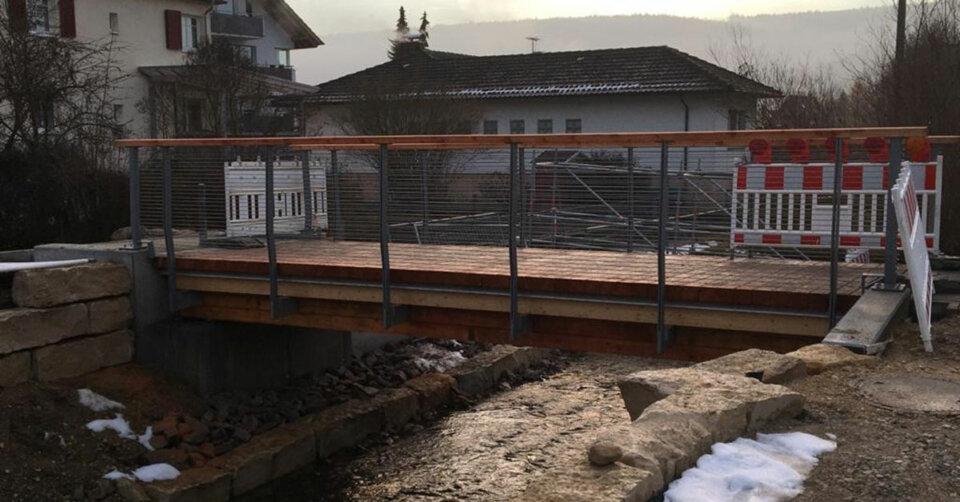 Sanierung Schafmarktbrücke Möhringen abgeschlossen