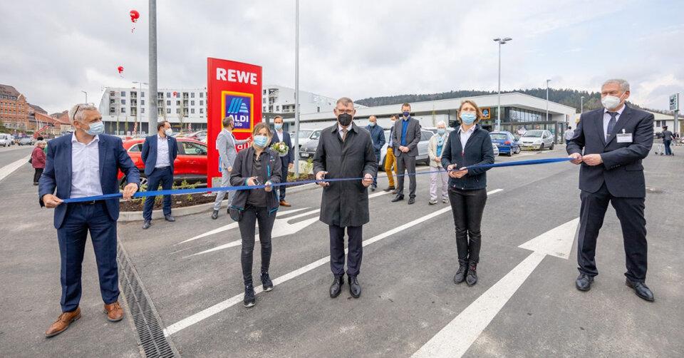 Tuttlingen: Rewe und Aldi eröffnen in neuem Gebäudekomplex