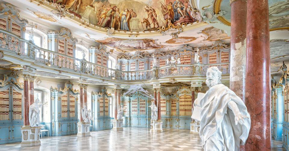 """Sebastian Sailers """"Schwäbische Schöpfung"""" im Bibliothekssaal am 23. Oktober"""