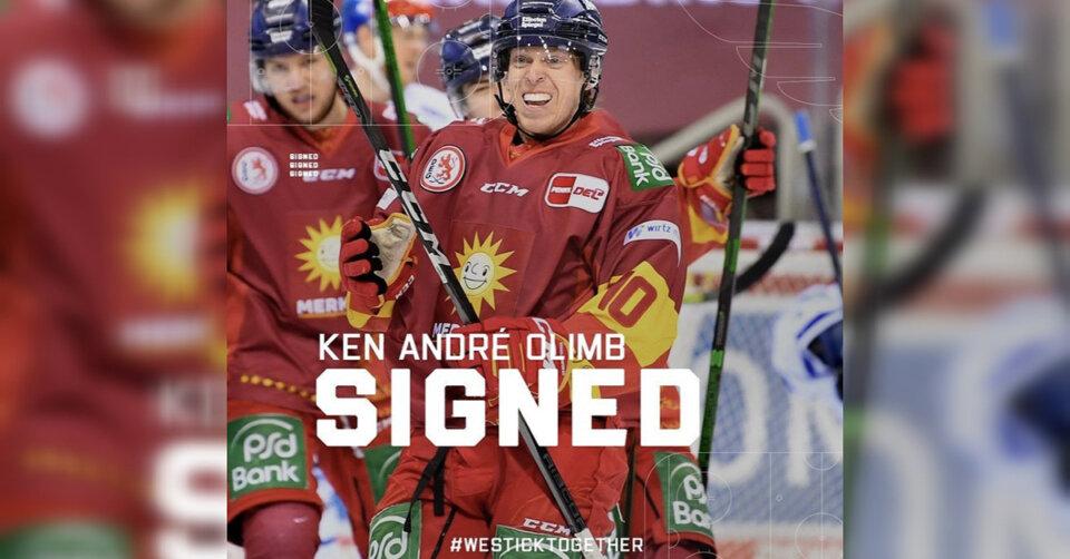 Ken André Olimb schließt sich den Wild Wings an
