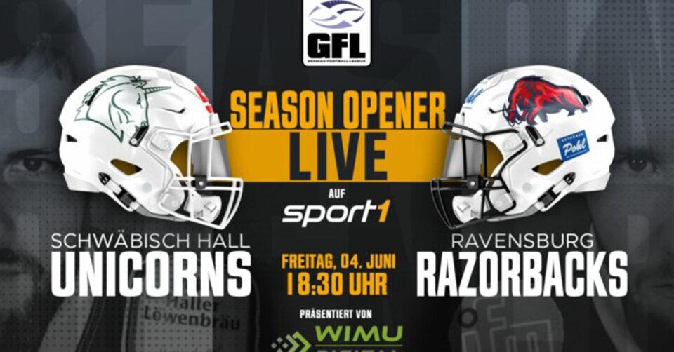Razorbacks vor GFL-Premiere – zum Auftakt wartet Titelfavorit Schwäbisch Hall