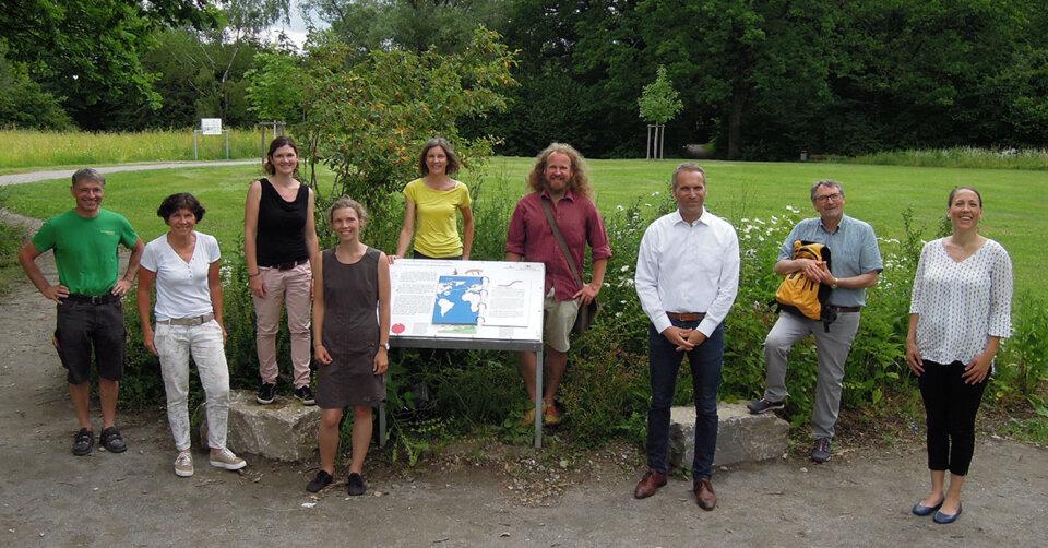 """Interaktiver Lehrpfad rund um den """"Scherbelino"""" in Ravensburg bietet Abwechslung für Jung und Alt in schöner Natur"""