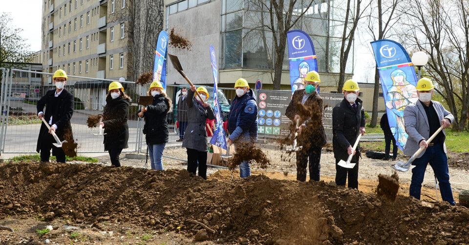 Die Bauarbeiten am neuen Pflegeheim Riedlingen haben begonnen