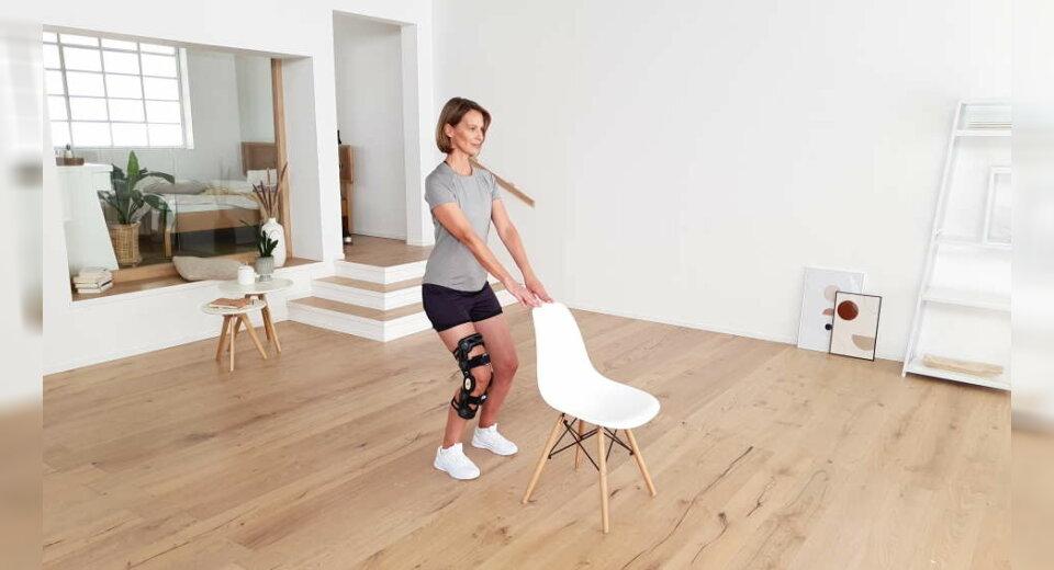 Digital gegen Kniearthrose