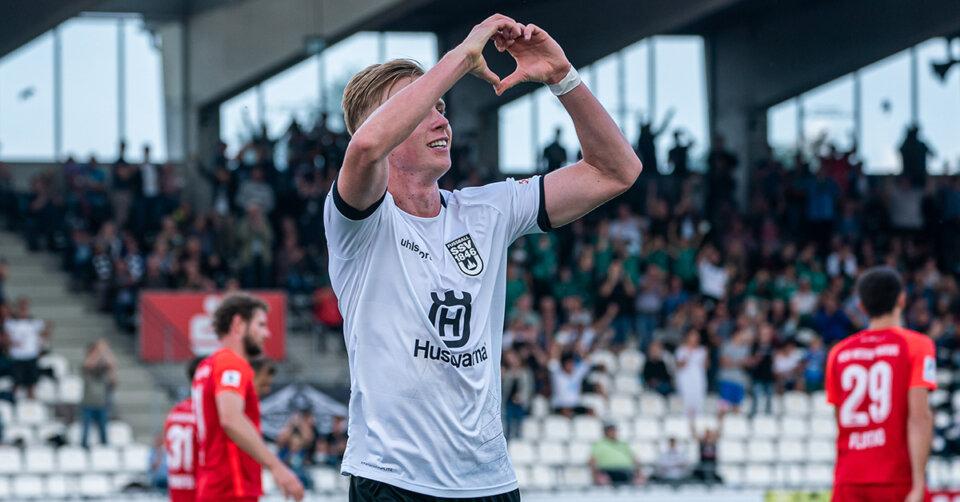 Die Ulmer Fußballer erobern Rang eins
