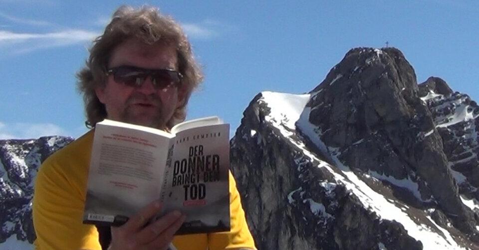 """Onlinelesung in der Stadtbücherei: Hans Compter: """"Der Donner bringt den Tod"""""""