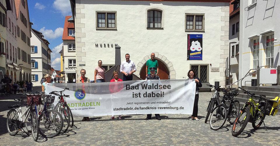 Aktion Stadtradeln – Bad Waldsee ist wieder dabei – Anmeldungen ab sofort möglich!