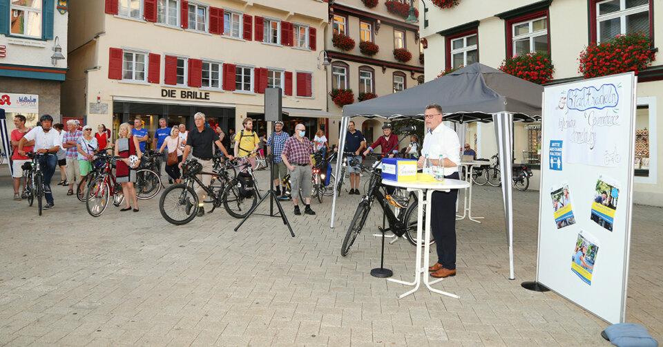 Stadtradeln 2021 – Radtouren der Biberacher Bürgermeister