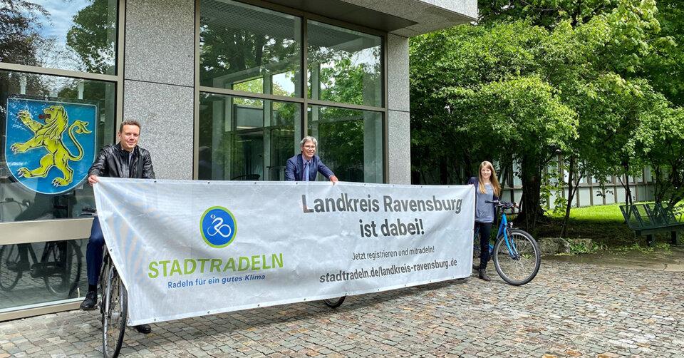 STADTRADELN 2021 – Landkreis Ravensburg tritt vom 12. Juni bis 2. Juli 2021 wieder beim STADTRADELN an