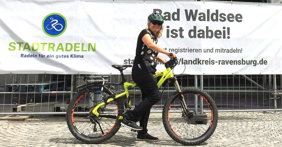 Stadtradeln: Waldsee ist wieder dabei