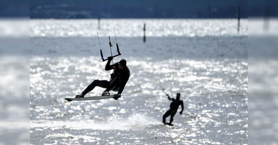 Starker Wind am Bodensee: Wassersportler in Bedrängnis