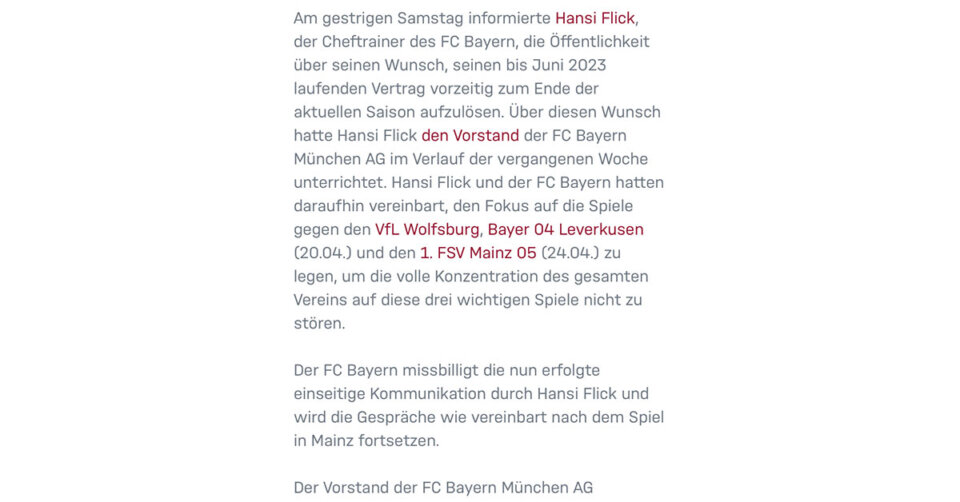 Kommentar: Der FC Bayern schadet sich mal wieder selbst
