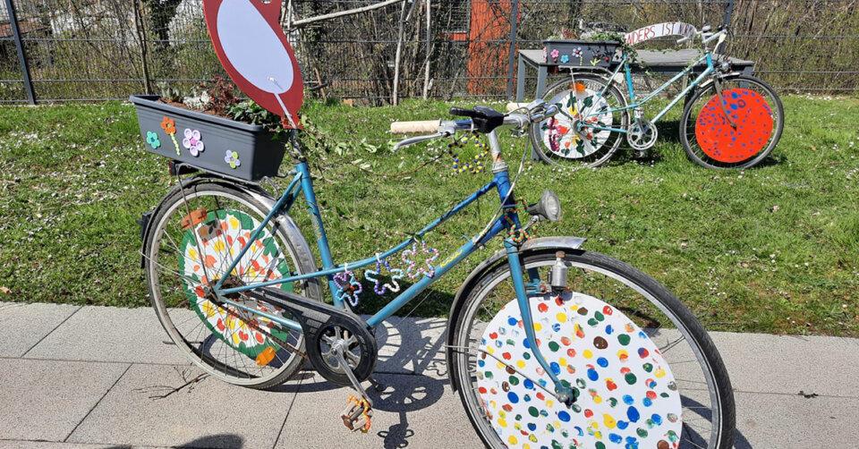 """Mobilität, Kreativität und Inklusion: """"Bunte Fahrräder"""" auf der Landesgartenschau"""