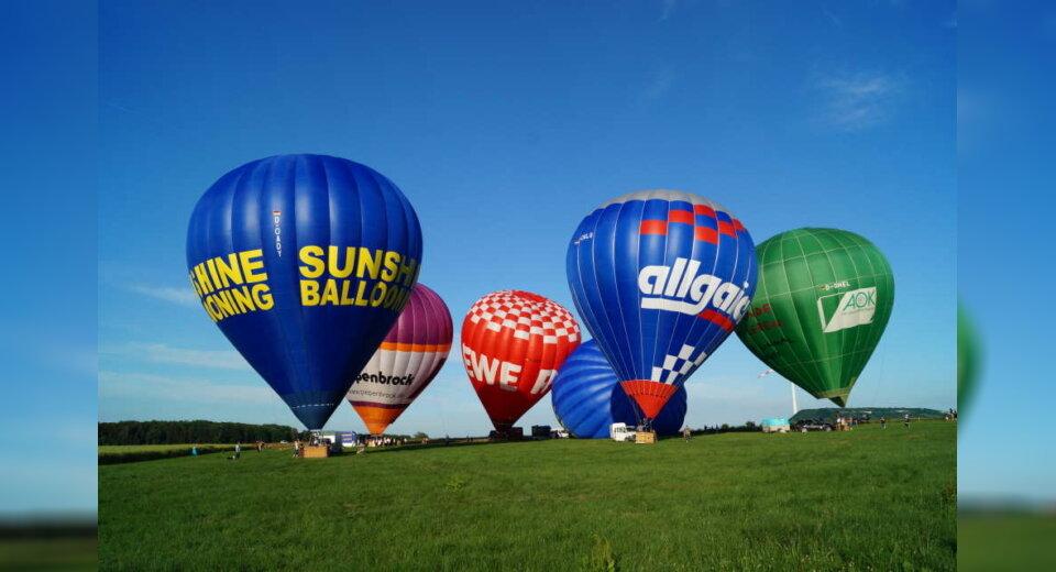 Sunshine-Ballooning bietet unvergessliche Trips über den Wolken