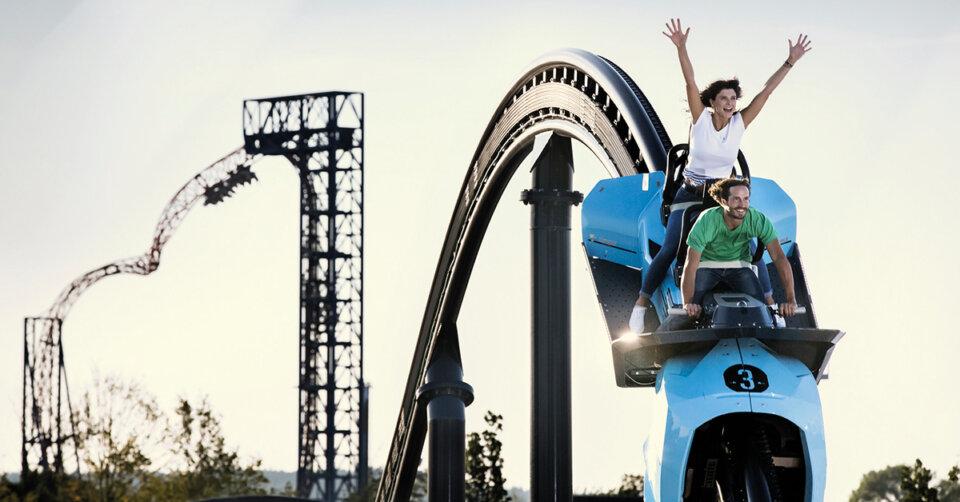 Der Skyline Park mit seinen 60 Fahrattraktionen öffnet am 11. Juni wieder