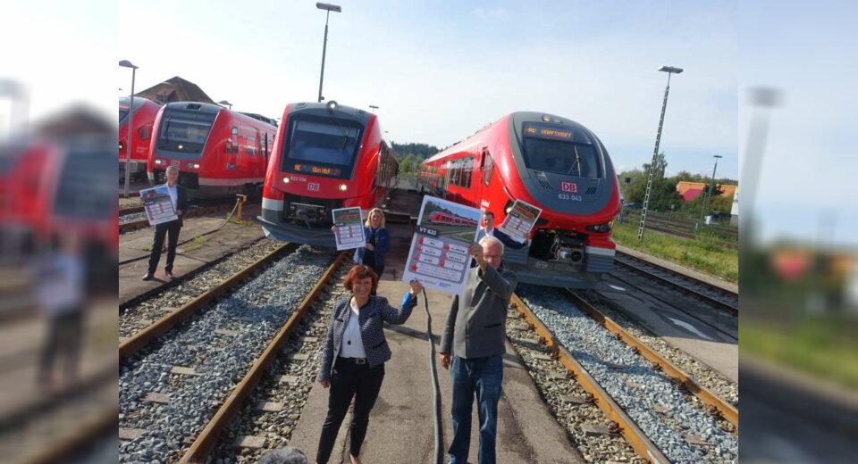DB Regio rollt mit neuer Fahrzeugflotte im Allgäu an
