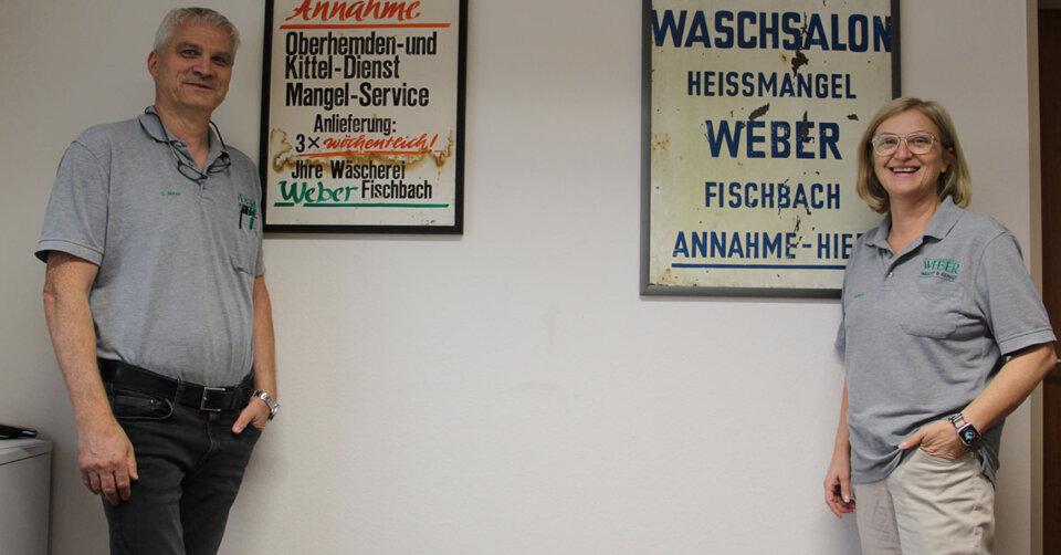 Qualität seit 1957: Die Textilreinigung Weber GmbH ist Ihr Experte für reinste Wäsche
